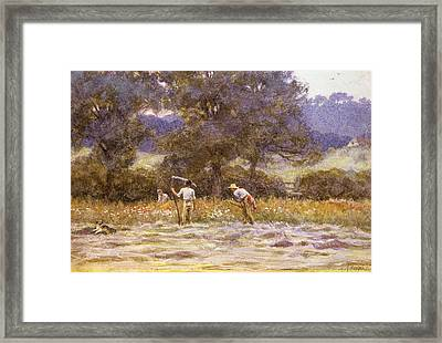 The Mowers  Framed Print