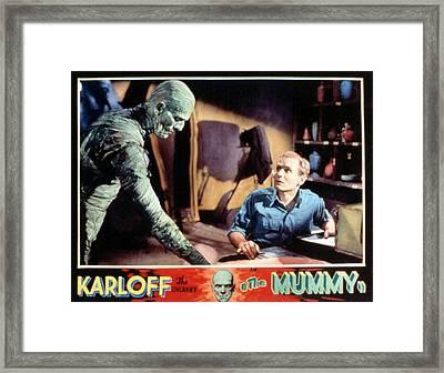 The Mummy, Boris Karloff, Bramwell Framed Print by Everett