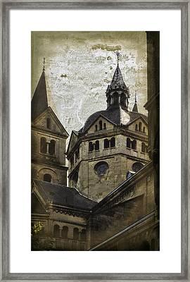 The Munsterkerk Roermond Framed Print by Mary Machare