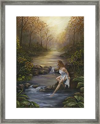 The Muse Framed Print