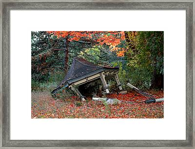 The Music Has Stopped Framed Print