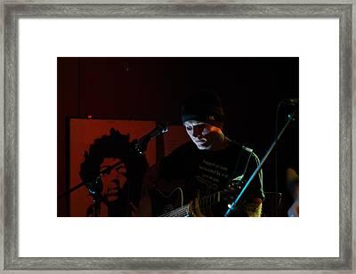 The Music Illuminates Framed Print by Ronnie Reffin