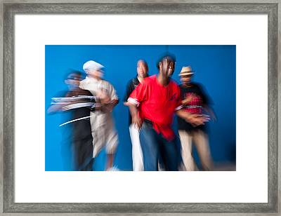 The Music Of Life Framed Print by Michael Braxenthaler