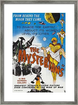The Mysterians, 1957 Framed Print