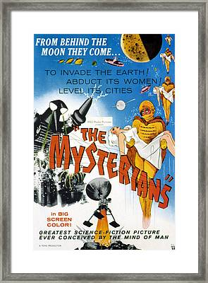 The Mysterians, 1959 Framed Print