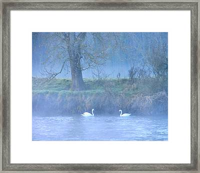 The Mystical River Framed Print by Debra Collins