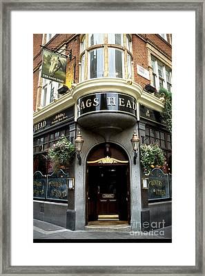 The Nags Head Pub Framed Print by Anne Gordon