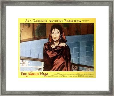 The Naked Maja, Ava Gardner, 1958 Framed Print by Everett