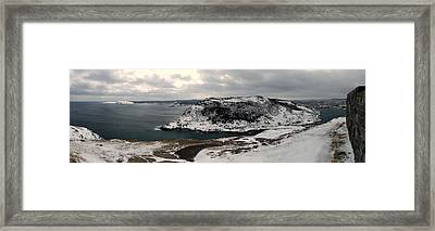 The Narrows - St. John's Harbour Framed Print by Max Buchheit Photography