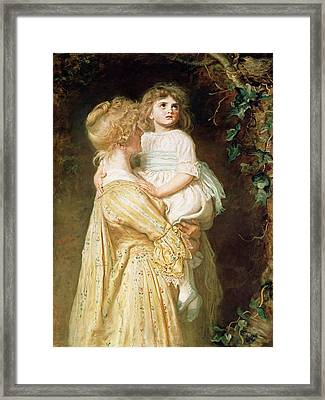 The Nest Framed Print by Sir John Everett Millais