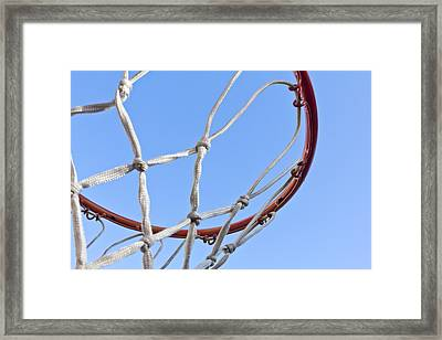 The Net And No Game Framed Print by Nicholas Evans