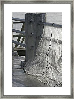 The Net Framed Print