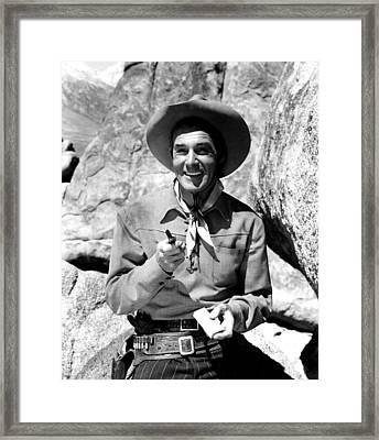 The Nevadan, Randolph Scott, 1950 Framed Print by Everett