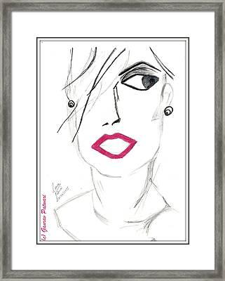 The New Look Framed Print by Gaurav Patwari