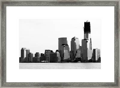 Framed Print featuring the photograph The New Skyline  by Raymond Earley