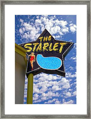The New Starlet Framed Print by Ron Regalado