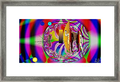 The New View Of Science Framed Print by Helmut Rottler