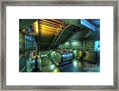 The Next Level Framed Print by Yhun Suarez