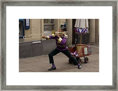 The None Man Band No 2 Framed Print by Peter Jenkins