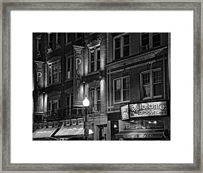 The North End 08 Framed Print