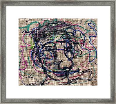 The Nose Knows Framed Print by Natalie Holland
