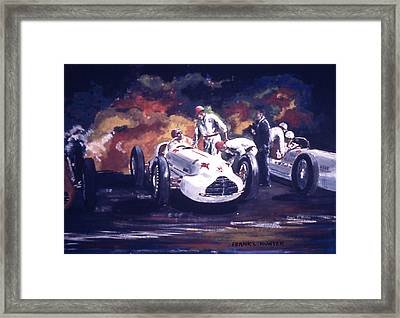 The Novi Specials At Indy Framed Print by Frank Hunter