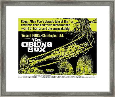 The Oblong Box, 1969 Framed Print