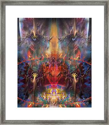 The Observer Framed Print by Rhonda Strickland