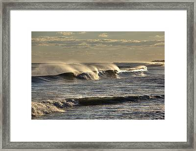 The Ocean Winds Framed Print