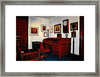The Office Framed Print by Bill Cannon