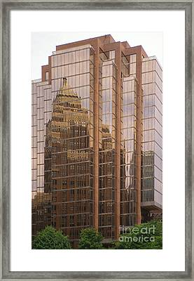 The Old And The New Framed Print by Sandra Bronstein