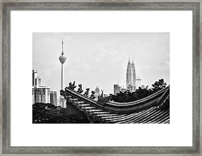 The Old And The New Framed Print by Zoe Ferrie