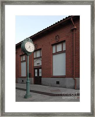 The Old Banker's Building - 5d18429 Framed Print by Wingsdomain Art and Photography