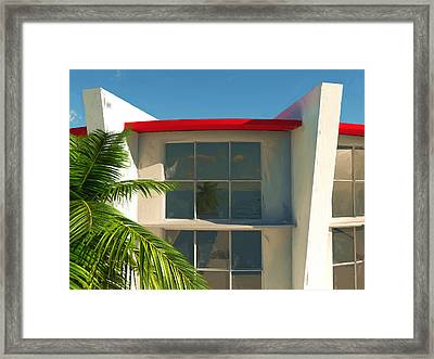 The Old Bay House Framed Print by Richard Rizzo