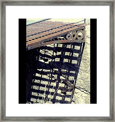 The Old Bridge Framed Print by Guadalupe Nicole Barrionuevo