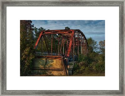 The Old Brooklyn Bridge Framed Print