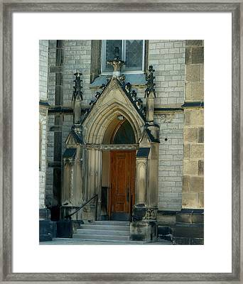 The Old Church Framed Print by Dennis Pintoski