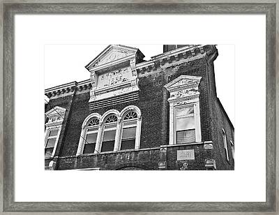The Old Days Framed Print by Betsy Knapp