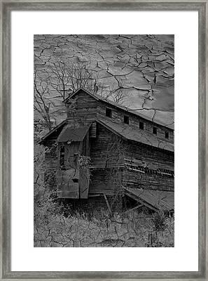 The Old Douglassville Hotel Framed Print by Trish Tritz