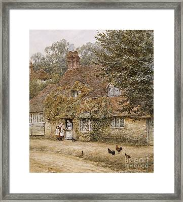 The Old Fish Shop Haslemere Framed Print