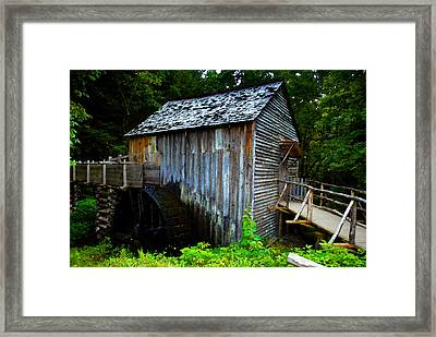 The Old Grist Mill Framed Print