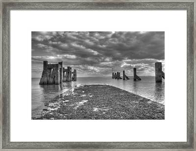 The Old Harbour Framed Print by Kevin Bates