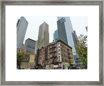 Framed Print featuring the photograph The Old House by Rogerio Mariani