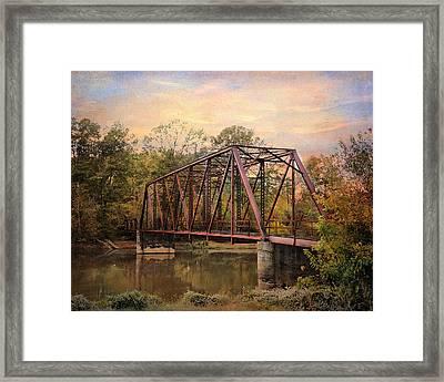 The Old Iron Bridge Framed Print by Jai Johnson