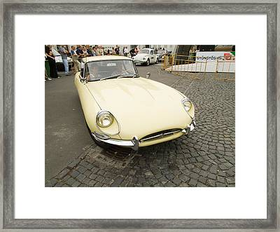The Old Jaguar Framed Print by Odon Czintos