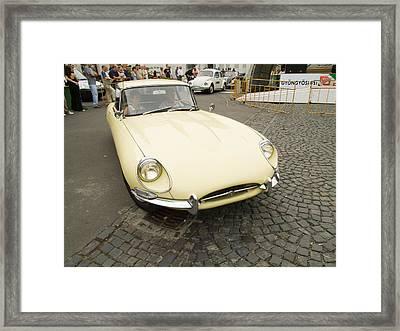 The Old Jaguar Framed Print