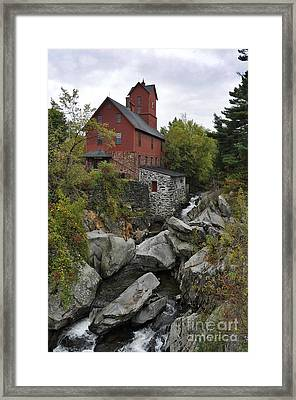 The Old Mill Framed Print by Diane E Berry