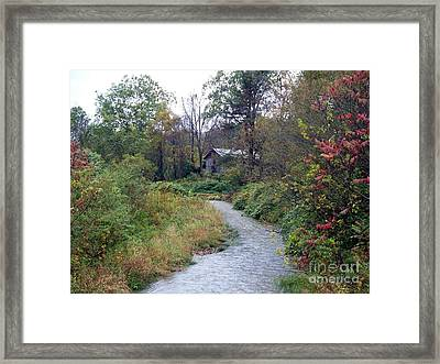 The Old Mill Stream Framed Print