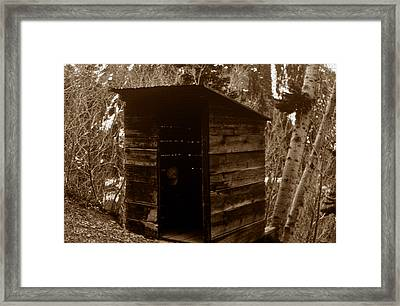 The Old Miners Retreat Framed Print