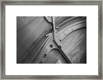 The Old Piano Framed Print
